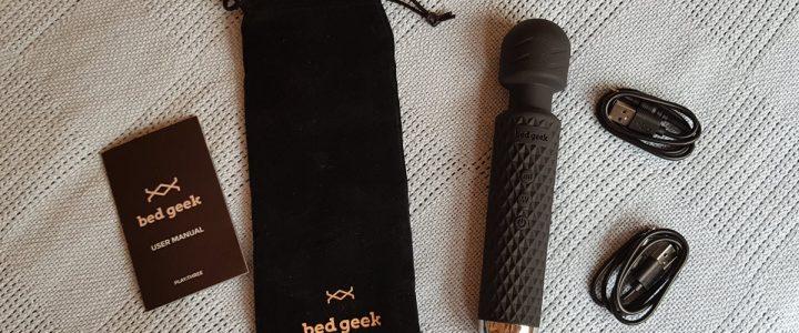 Bed Geek Wand Review: A Compact Cordless 'Hitachi' Magic Wand
