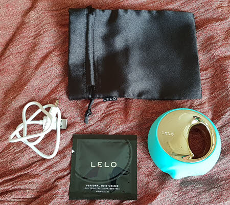 Lelo Ora 3 oral sex simulator - whats inside the box